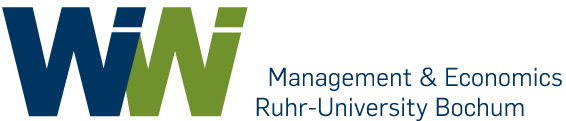 Logo of the Faculty of Economics at Ruhr University Bochum